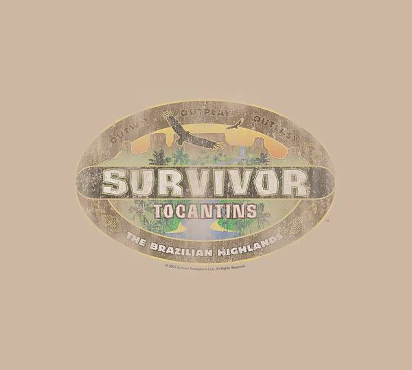Reality Digital Art - Survivor - Tocantins Distressed by Brand A