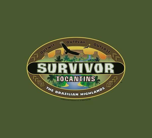 Reality Digital Art - Survivor - Tocantins Logo by Brand A