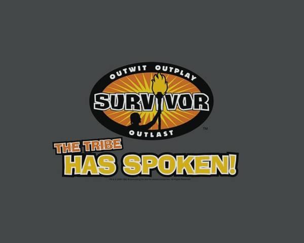 Reality Digital Art - Survivor - Tribe Has Spoken by Brand A