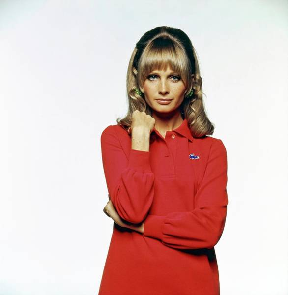 Polo Photograph - Susan Murray Wearing A Lacoste Dress by Bert Stern