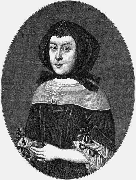 Wall Art - Drawing - Susanna Katharina Von  Klettenberg by Mary Evans Picture Library