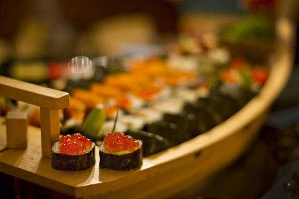 Sushi Wall Art - Photograph - Sushi Heaven by Evelina Kremsdorf