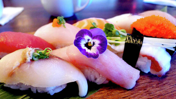 Florida Photograph - Sushi Lunch by Thank You!