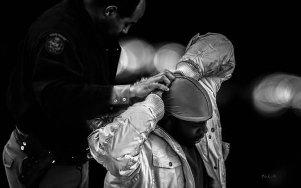 Law Enforcement Photograph - Suspect  by Bob Orsillo