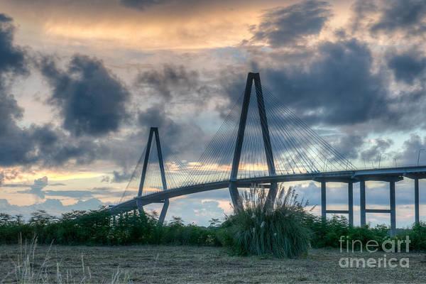Photograph - Suspension Bridge by Dale Powell