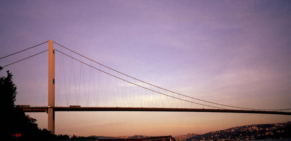 Photograph - Suspension Bridge by Shaun Higson