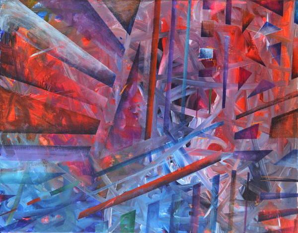 Painting - Suspension Resolution by Regina Valluzzi
