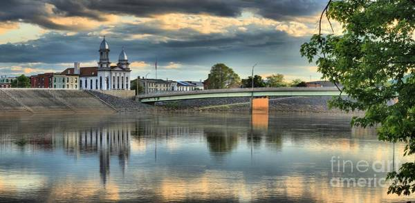 Lock Haven Wall Art - Photograph - Susquehanna River Reflections by Adam Jewell