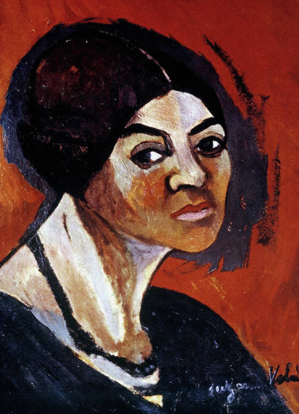 Painting - Suzanne Valadon (1865-1938) by Granger