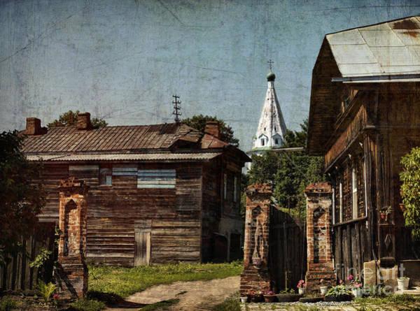 Church Yard Wall Art - Photograph - Suzdal Street by Elena Nosyreva