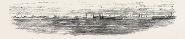 1854 Drawing - Sveaborg In The Gulf Of Finland 1854 by Finnish School