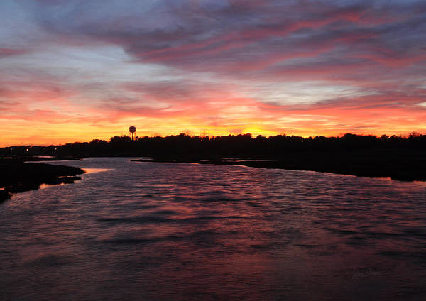 Photograph - Swan River Sunset by Luke Moore