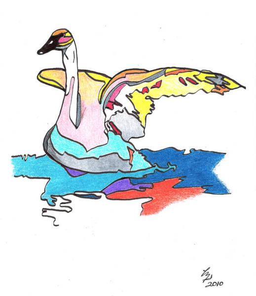 Swan2010 Art Print