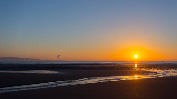 Photograph - Swansea Beach Sunrise by Paul Cowan