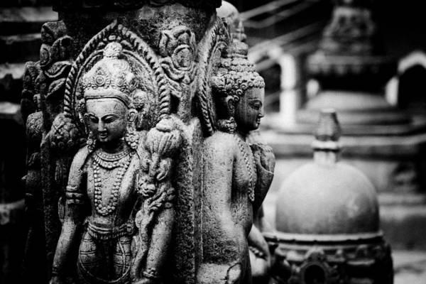 Photograph - swayambhunath Kathmandu by Raimond Klavins