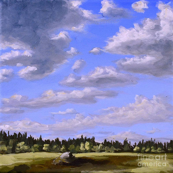Painting - Sweden In Spring by Ric Nagualero
