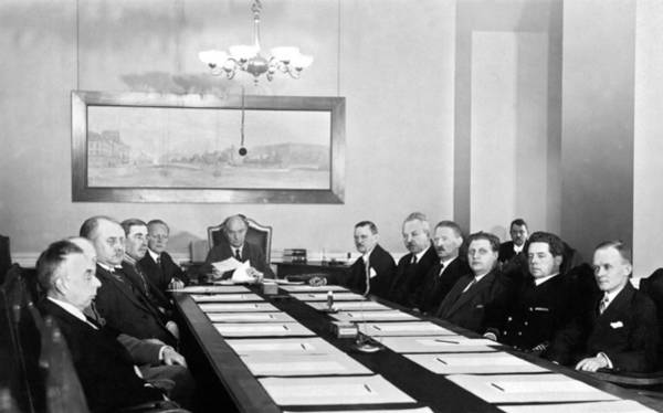 Appearance Photograph - Swedish Defense Commission by Underwood Archives