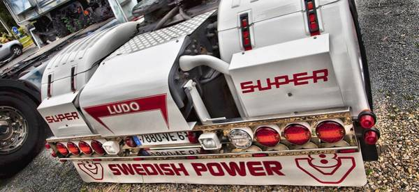 Freightliner Wall Art - Photograph - Swedish Power by Mick Flynn