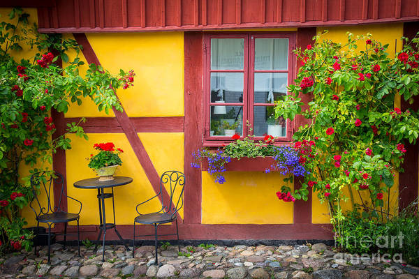Small Town Photograph - Swedish Summer by Inge Johnsson