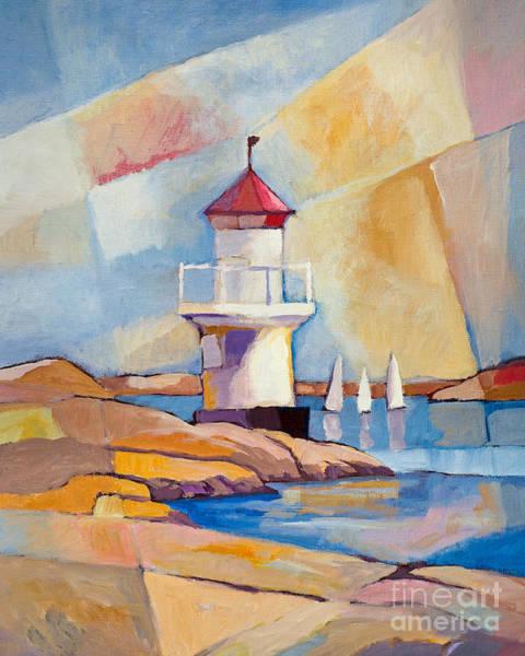 Painting - Swedish Summer by Lutz Baar