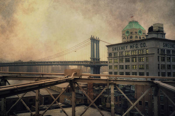 Wall Art - Photograph - Sweeney Manufacturing And The Manhattan Bridge - New York City by Joann Vitali
