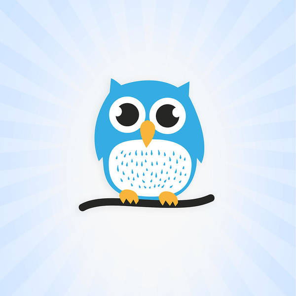 Wall Art - Digital Art - Sweet And Cute Owl by Philipp Rietz