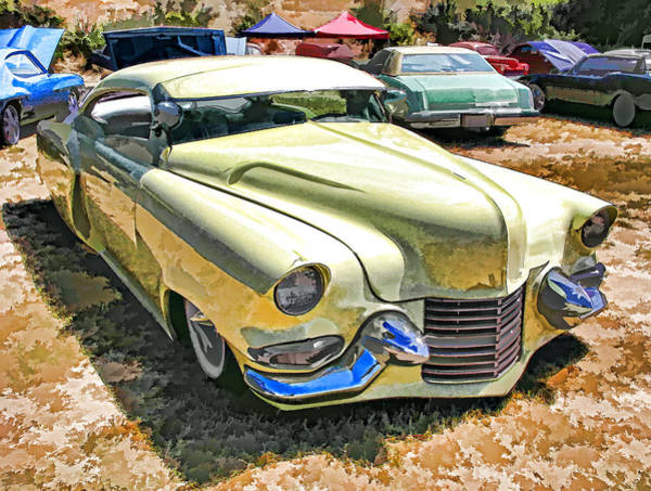 Photograph - Sweet And Low-rider 3/4 Front View by Samuel Sheats
