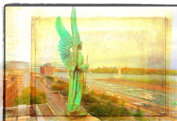 Photograph - Sweet Angel In Montreal by Alice Gipson