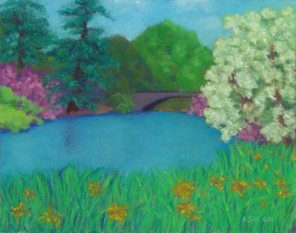 Pastel - Sweet Auburn by Anne Katzeff