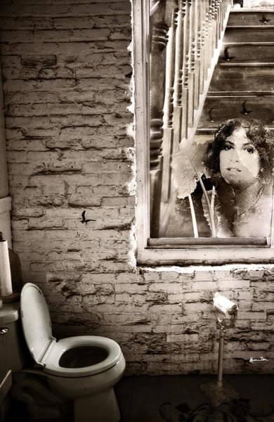 Wall Art - Photograph - Sweet Bird Of Youth Aka Window Of Time B/w by Madeline Ellis