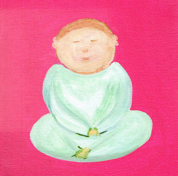 Painting - Sweet Buddha by Beth  Cornell