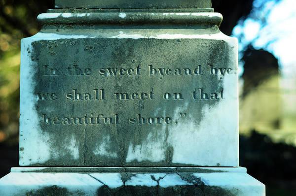 Photograph - Sweet Bye And Bye by Rebecca Sherman
