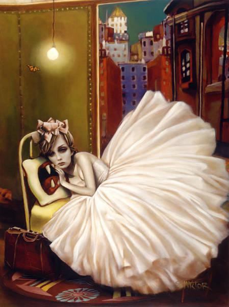 Wall Art - Mixed Media - Sweet Dreams by Vic Lee