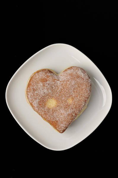 Krapfen Wall Art - Photograph - Sweet Heart by Matthias Hauser