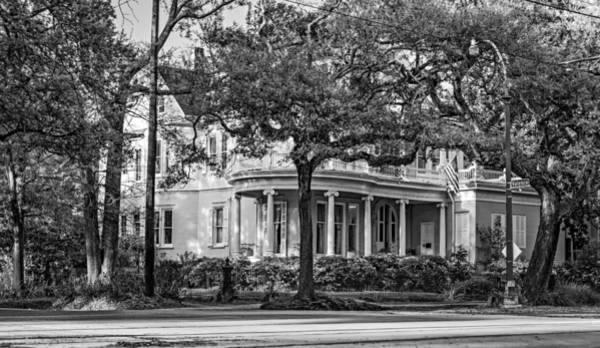 Charles Mansion Photograph - Sweet Home New Orleans Bw by Steve Harrington