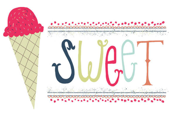 Cream Wall Art - Painting - Sweet by Katie Doucette