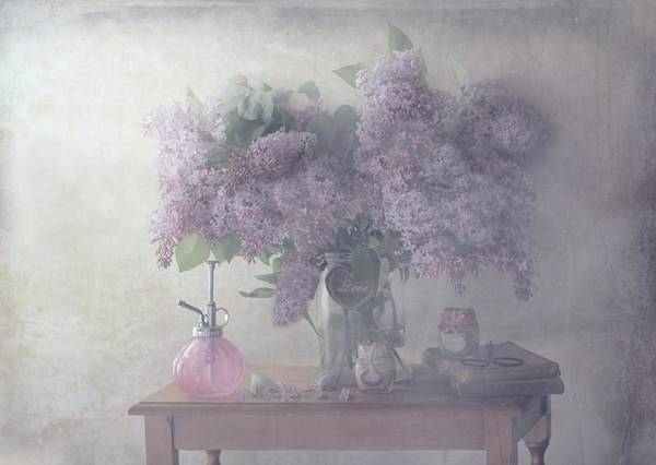 Wall Art - Photograph - Sweet Lilacs by Delphine Devos