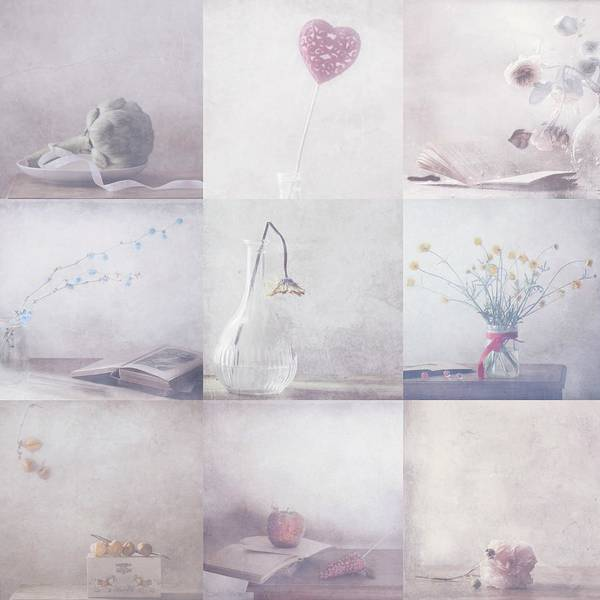 Soft Color Photograph - Sweet Little Things Collection by Delphine Devos