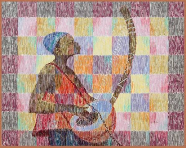 Wall Art - Painting - Sweet Melody by Aryeetey Desmond Nii Teiko
