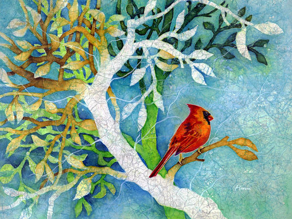 Songbird Painting - Sweet Memories I by Hailey E Herrera