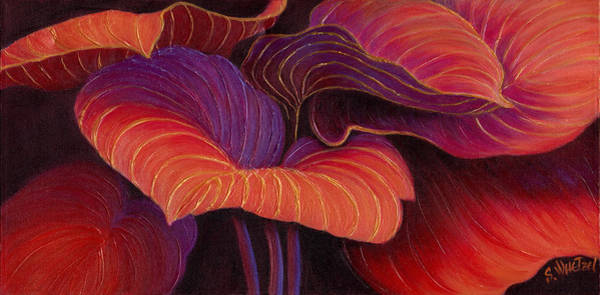 Art Print featuring the painting Sweet Tarts by Sandi Whetzel