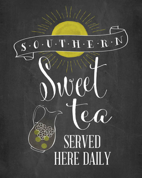 Kitchen Painting - Sweet Tea by Amy Cummings