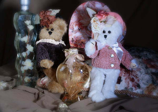 Wall Art - Photograph - Sweetheart Bears by Camille Lopez