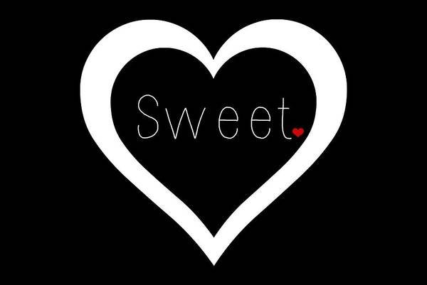 Sweetheart Digital Art - Sweetheart by Chastity Hoff