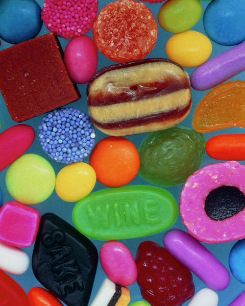 Foodstuff Photograph - Sweets by Adrienne Hart-davis/science Photo Library