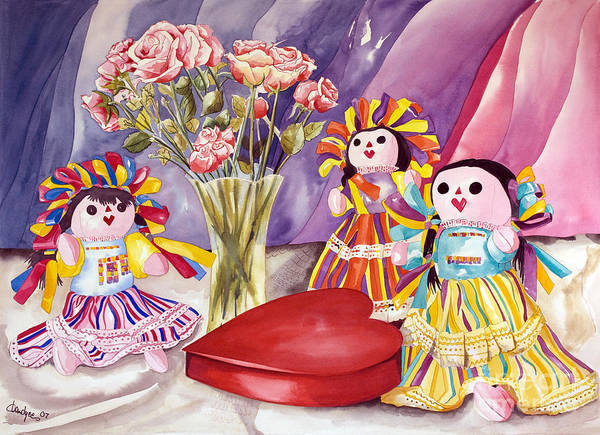 Painting - Sweets For The Sweet by Kandyce Waltensperger