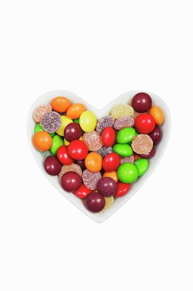 Sweeties Photograph - Sweets by Geoff Kidd