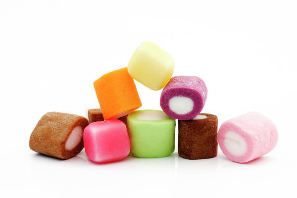 Foodstuff Photograph - Sweets by Geoff Kidd/science Photo Library