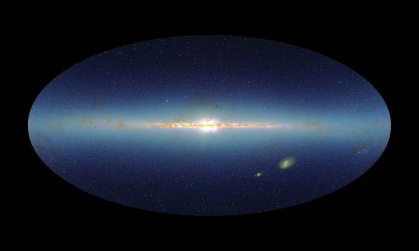 Wall Art - Photograph - Swift Mission Gamma Ray Burst Map by Nasa/gsfc-svs/science Photo Library