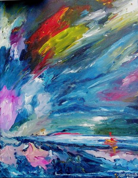 Painting - Swift Movement by Ray Khalife